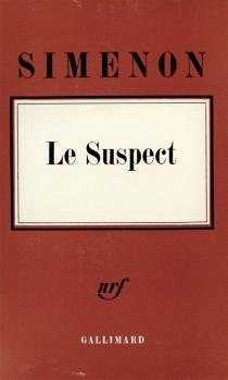 Le Suspect - GeorgesSimenon