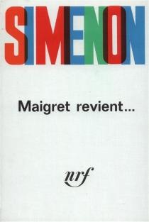 Maigret revient - GeorgesSimenon