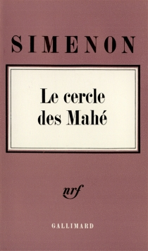 Le Cercle des Mahé - GeorgesSimenon
