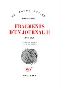 Fragments d'un journal - MirceaEliade