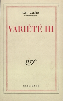 Variété - PaulValéry