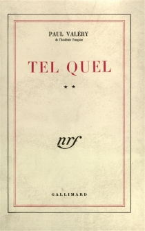 Tel quel | Volume 2 - Paul Valéry