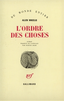 L'ordre des choses - Allen Wheelis