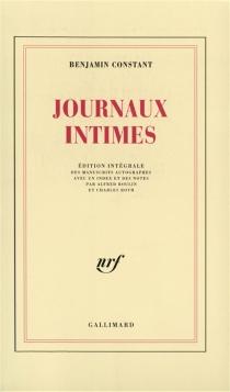 Journaux intimes - BenjaminConstant
