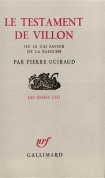 Le Testament de Villon - PierreGuiraud