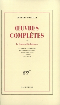 Oeuvres complètes - Georges Bataille