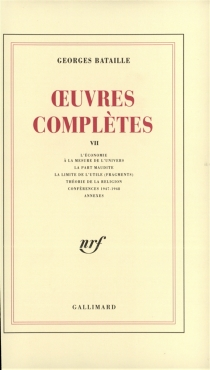 Oeuvres complètes - GeorgesBataille