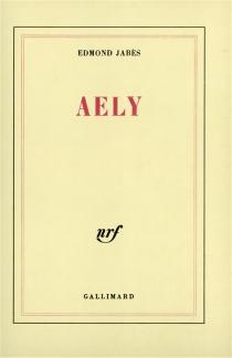 Aely - EdmondJabès