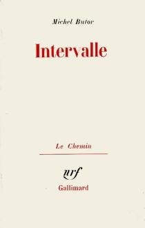 Intervalle - MichelButor