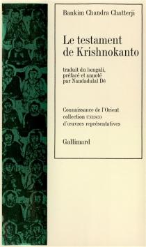 Le Testament de Krishnokanto - Bankim ChandraChatterji
