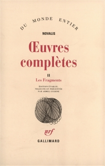 Oeuvres complètes - Novalis