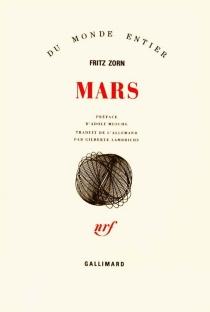 Mars : je suis jeune et riche et cultivé, et je suis malheureux, névrosé et seul - FritzZorn