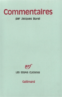 Commentaires - Jacques Borel