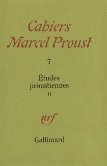 Etudes Proustiennes 2 -