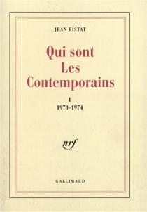 Qui sont les contemporains - JeanRistat
