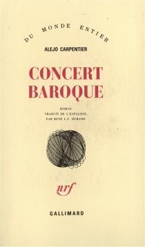 Concert baroque - AlejoCarpentier