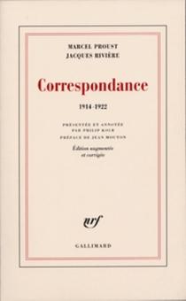 Correspondance, 1914-1922 - MarcelProust