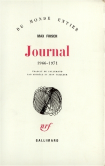 Journal : 1966-1971 - Max Frisch