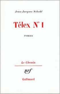 Télex n° 1 - Jean-JacquesSchuhl