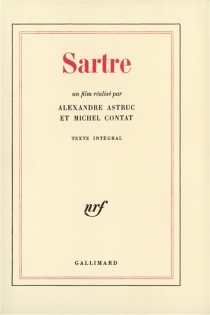 Sartre : un film réalisé par Alexandre Astruc et Michel Contat - AlexandreAstruc