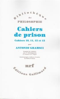 Cahiers de prison - AntonioGramsci