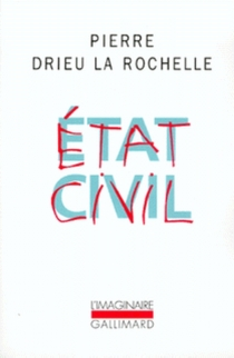 Etat civil - Pierre Drieu La Rochelle
