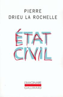 Etat civil - PierreDrieu La Rochelle