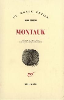 Montauk : un récit - MaxFrisch