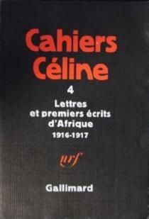 Cahiers Céline - Louis-FerdinandCéline