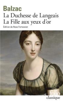 La Duchesse de Langeais| La Fille aux yeux d'or - Honoré deBalzac