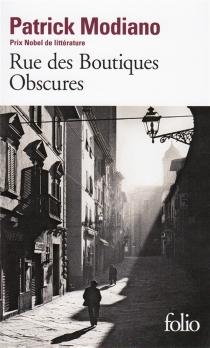Rue des boutiques obscures - PatrickModiano
