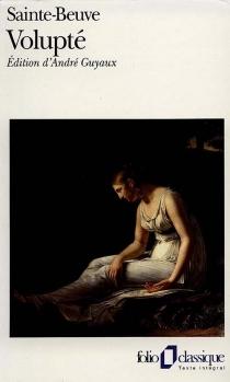Volupté - Charles-AugustinSainte-Beuve