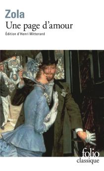 Une page d'amour - ÉmileZola
