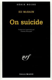 On suicide - EdMcBain