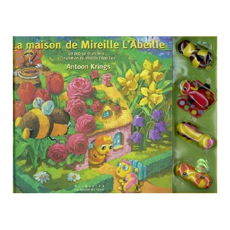 la maison de mireille l 39 abeille un pop up et un livre l 39 invitation de mireille l 39 abeille. Black Bedroom Furniture Sets. Home Design Ideas