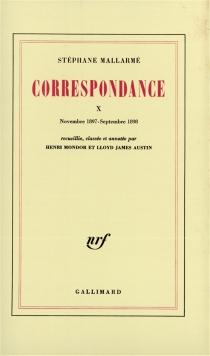 Correspondance - StéphaneMallarmé