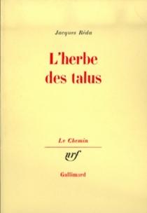 L'Herbe des talus - JacquesRéda