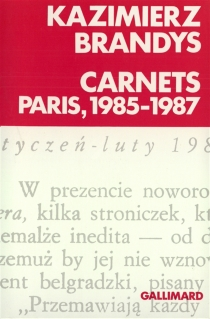 Carnets : Paris, 1985-1987 - KazimierzBrandys