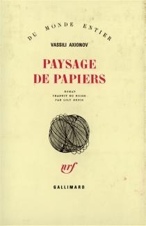 Paysage de papiers - VassiliAxionov