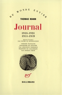 Journal - Thomas Mann