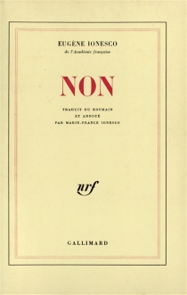 Non - EugèneIonesco