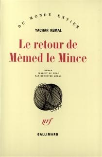Le retour de Mèmed le Mince - YasarKemal