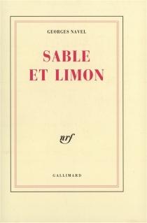 Sable et limon - GeorgesNavel
