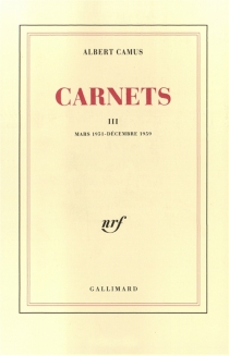 Carnets - AlbertCamus