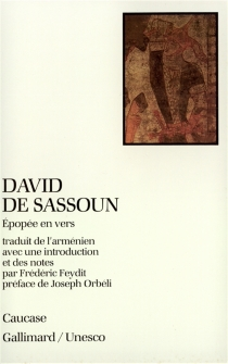 David de Sassoun : épopée en vers -