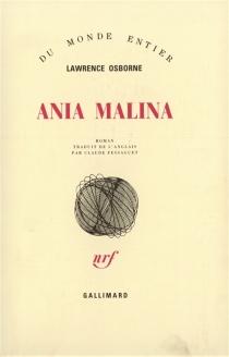 Ania Malina - LawrenceOsborne