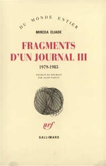 Fragments d'un journal - Mircea Eliade