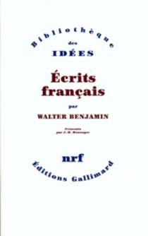 Ecrits français - WalterBenjamin