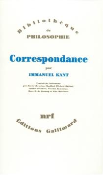 Correspondance - EmmanuelKant
