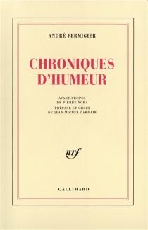 Chroniques d'humeur - AndréFermigier